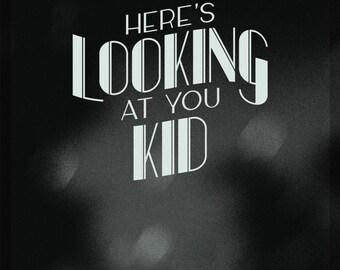 Casablanca Film Noir Quote