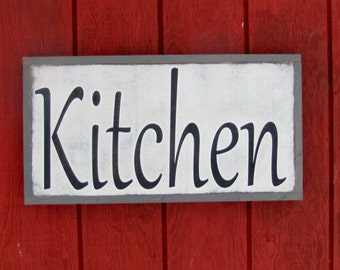Unique Kitchen Subway Art Related Items Etsy