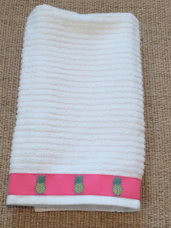 Https Etsy Com Listing 228925615 White 100 Cotton Hand Towel Kitchen Dish
