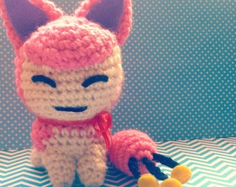 Amigurumi Pokemon: Skitty *Made to Order*