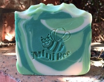 MOJITO Shea Butter Soap, Handmade Soap, Cold Process Soap, Moisturizing