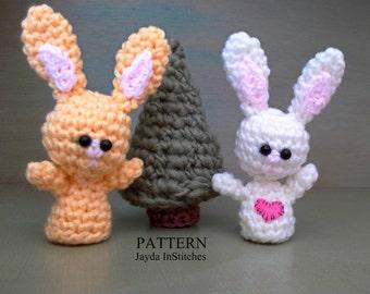 Bunny Crochet Pattern - Hoppy Easter! - Amigurumi Kawaii - Stuffed Toy Plush