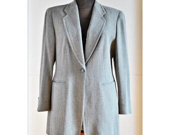 Genuine CERRUTI 1881 grey women's blazer  - wool