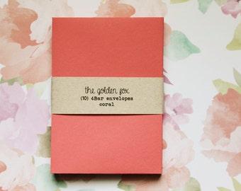 coral envelopes - A1/4Bar [10]