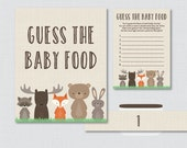Woodland Baby Shower Game...