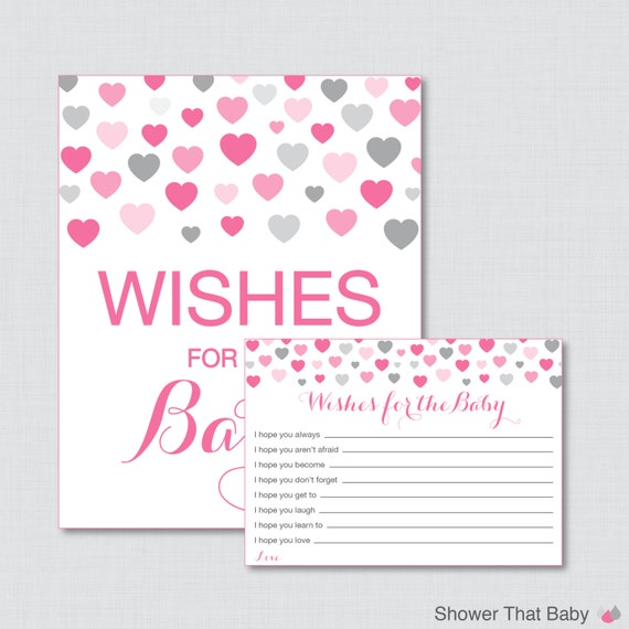 baby shower wishes for baby activity printable well wishes for baby