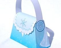 Ice Princess Purse Box (Instant Download)