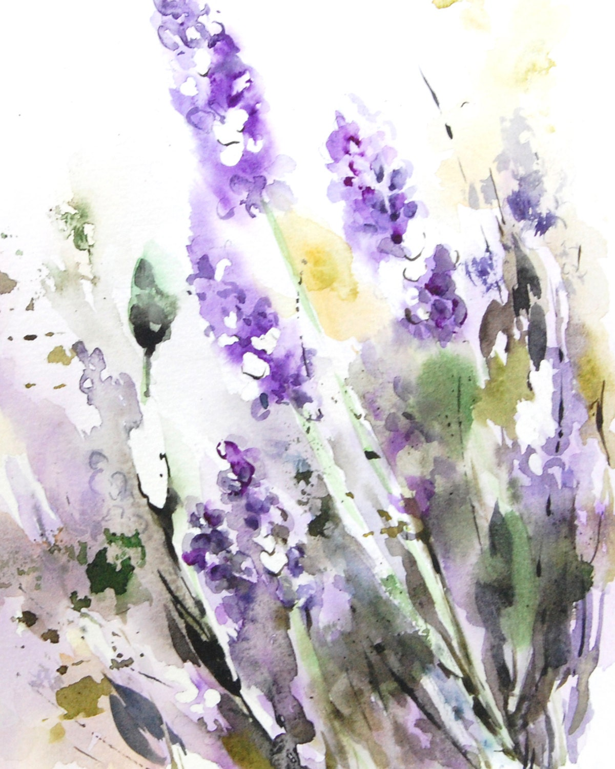 lavender painting - photo #7