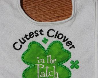 St. Patrick's Day Baby Bib