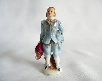 Colonial Man Figurine marked Occupied Japan