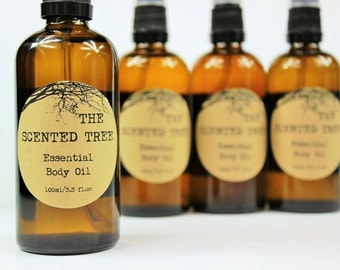 Essential Body Oil with Calendula Infused Oil Vegan