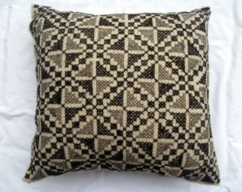 Vintage Hand Embroidered Pillow Cover #15
