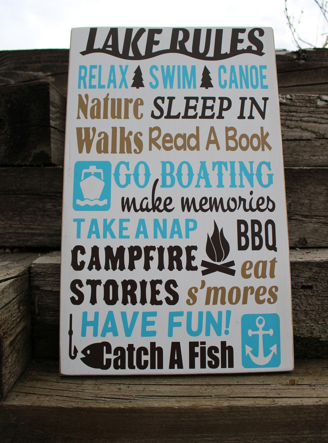 House Wall Sign-home on