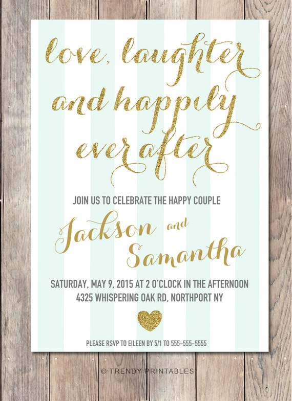 engagement party invitation printable by trendyprintables