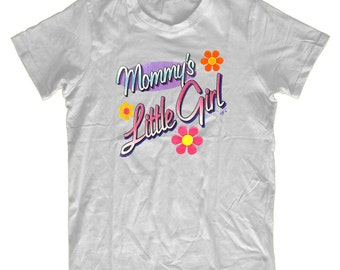Cute Kids Mommy's Little Girl Tshirt, Comedy T-shirt Perfect Childrens Gift K-1