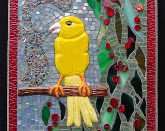 SPRING SALE !!! Mosaic Wall Art: The Advocate