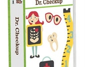 DR. CHECKUP Cricut Cartridge.  Multiple product shipping discounts available