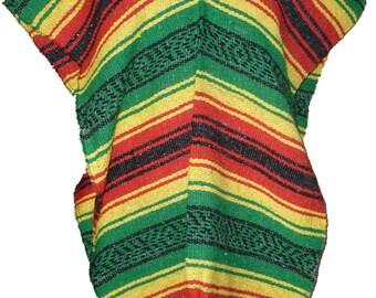 ... -Size-Fits-All Blanket Serape Gaban Sweater Yoga Pilates Beach Surfer