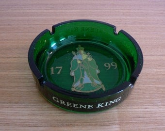 Superb Greene King Ashtray made by ARC France