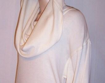 Semplice-Wonderful Wintry White Knit Dress