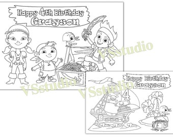 PAW Patrol Personalized coloring pages PDF file