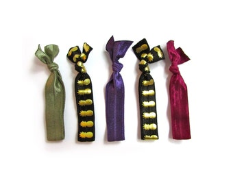 It Takes Two Hair Tie Package - Fold Over Elastic Hair Ties - Hair Ties - Hair Ties that Double as Bracelets by Ties that Shine