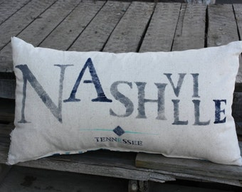 Nashville Hometown Pillow