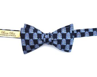 Mens bow tie Pure silk men's self tie bow tie Self Tied S065