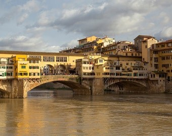 Ponte Vecchio picture, Firenze, Florence, Tuscany photography, Ponte Vecchio photography, Old Bridge, Italy, Fine Art.