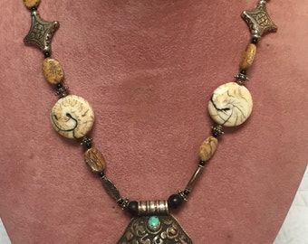 Custom Crafted Agate Necklace