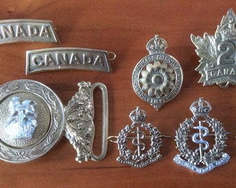 Reproduction Canadian Great War Badges