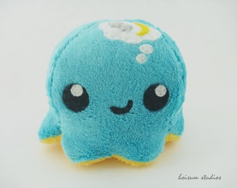 Octopus Plush - The Thoughtful Tako *Sweet Dreams*