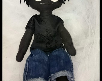 Gothic Male Rag-doll