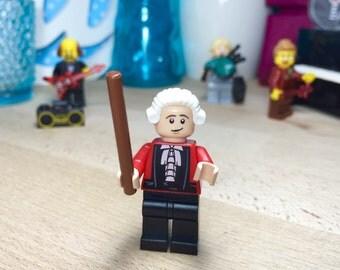 Amadeus Mozart Keychain Lego Custom Minifigure Keyring Gift
