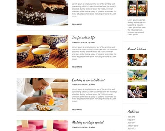 Food blog, Food Blog Website, Food Blog Design, WordPress Blog Designers, WordPress Blog Templates, WordPress Blog Themes, WordPress Website