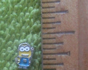 Small  Minions charms - one or two eyes. Can be used for Nail Art and Scrap Booking.