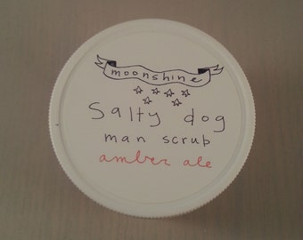 8 oz Salty Dog exfoliating man scrub