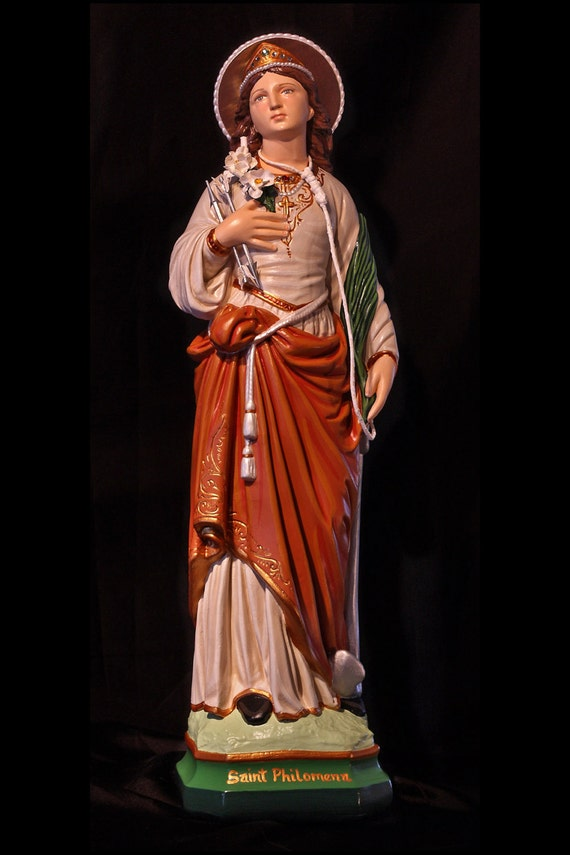 "St. Philomena ""The Wonder Worker""  20"" Catholic Christian Statue"