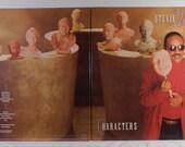 Stevie Wonder Characters Vintage Vinyl LP Gatefold