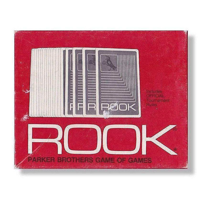 Rook Vintage Card Game 1963 Parker Brothers 100% By KegCitySTL
