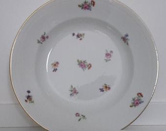 Soup plates - Limoges porcelain made in france