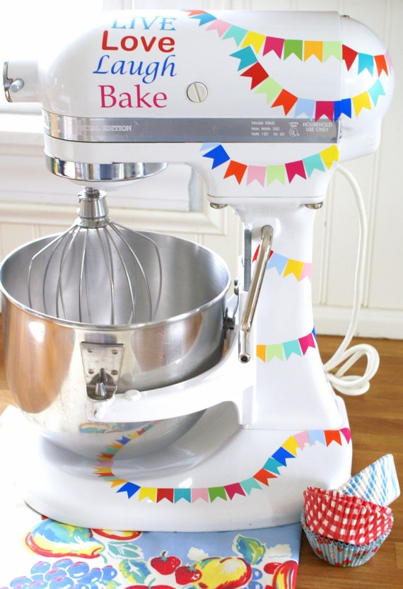 Fun Flags Kitchenaid Decals