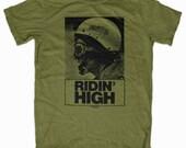 Ridin' High CALIFORNIA DOOM T-Shirt  by Print Mafia®
