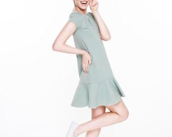 LeMuse MINT Rayon Dress TENNIS