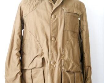 American Field Canvas Hunting Jacket • Vintage Hettrick MFG Co Coat