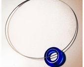 The Blue Zen necklace