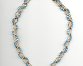 Hemp Necklace TearDrop