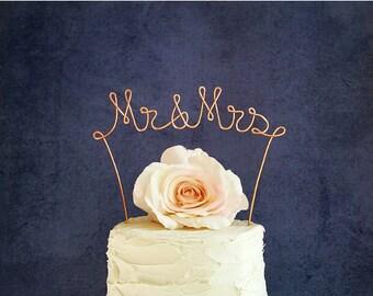 Mr & Mrs Wedding Cake Topper, Rustic Wedding Centerpiece, Engagement Party Decoration, Bridal Shower Decoration, Rustic Decoration