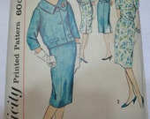 Simplicity 2874 Womens 50s One Piece Dress and Jacket Sewing Pattern Bust 39