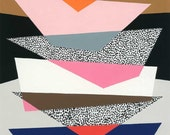 Strata No1, limited edition giclee print